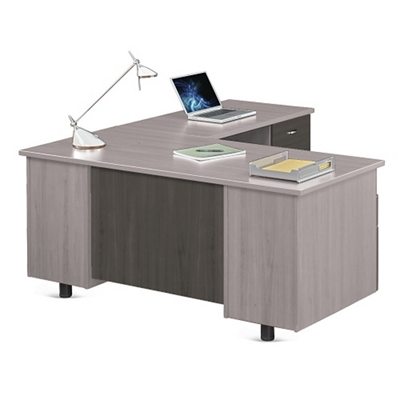"Ascend L-Desk with Right Return - 66""W"