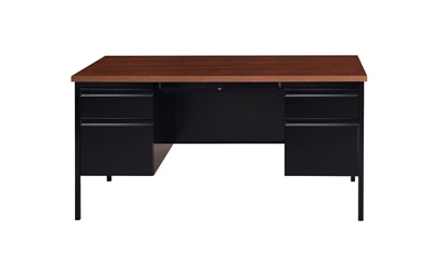 "Double Pedestal Desk - 60""W"