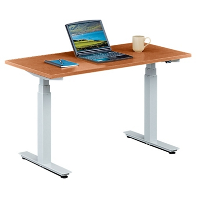 "Tabella Adjustable Height Table Desk - 48""W"