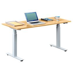 "Tabella Adjustable Height Table Desk - 60""W"