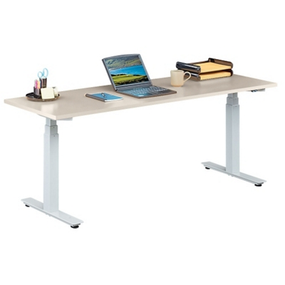 "Tabella Adjustable Height Table Desk - 72""W"