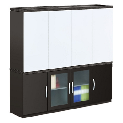 Transcend Storage Credenza and Conference Hutch Set