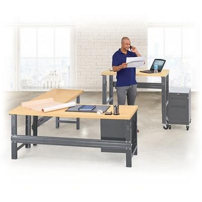 Annex Metal Frame Desk Set
