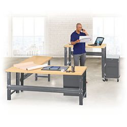 Annex Metal Frame Desk Set