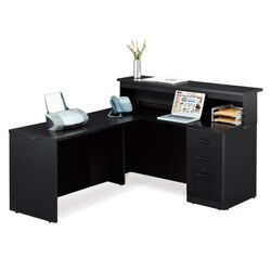 "Reception L-Desk - 60""W x 72""D"