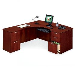L-Desk with Left Return