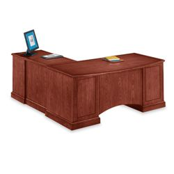 Executive Cherry L-Desk with Right Return