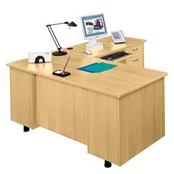 L-Desk with Right Return