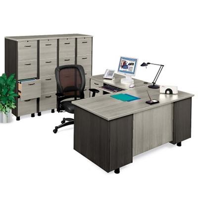 L-Desk and File Set