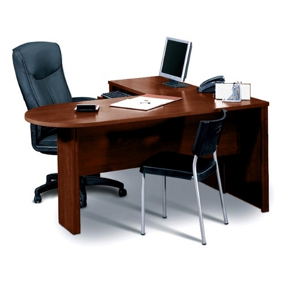 Peninsula L-Shape Desk
