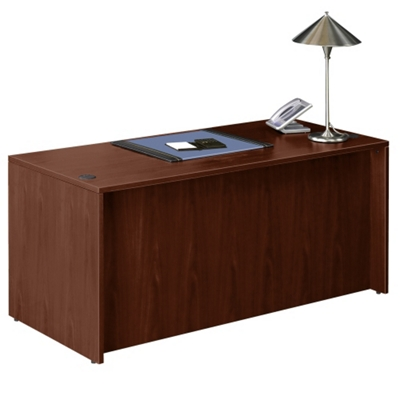 "Contemporary Executive Desk - 66""W"