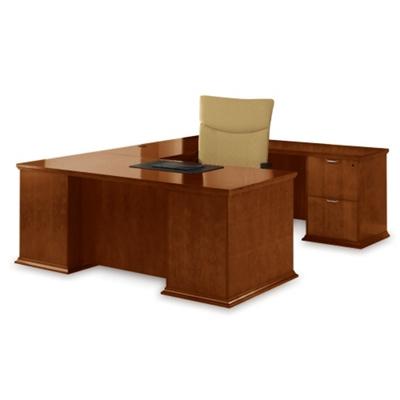 U-Desk with Right Return