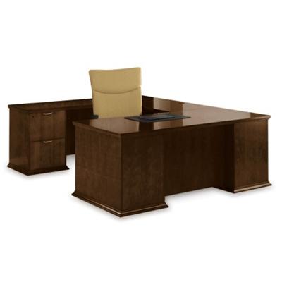 U-Desk with Left Return