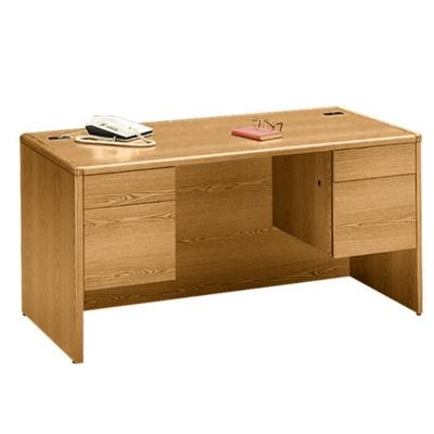 "60"" Wide Double Pedestal Desk"