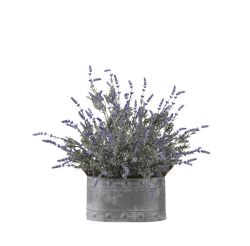 "Lavender Planter- 24.5""H"