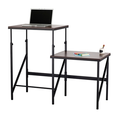 """Two Level Sit Stand Desk - 57.5""""W"""