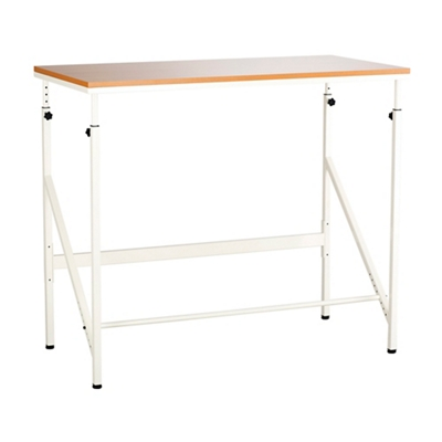 "Compact Standing Height Desk - 48""W"