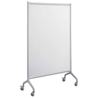 "Rumba Mobile Magnetic Whiteboard - 42""W x 66""H"