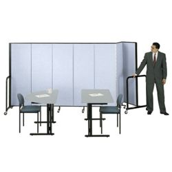 6' High Room Divider (7 Panels)