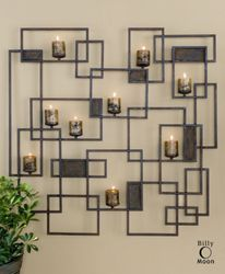Candlelight Wall Sculpture