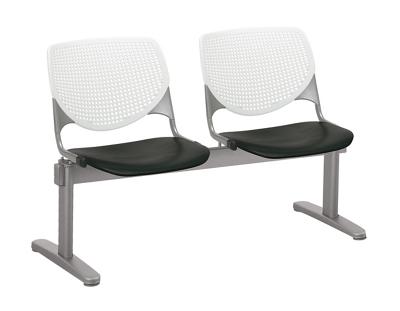 Two Seat Polypropylene Beam Seating