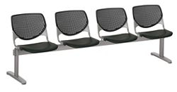 Four Seat Polypropylene Beam Seating