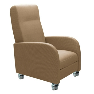 Haley Patient Recliner with Casters