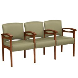 Conover Three Chair Tandem