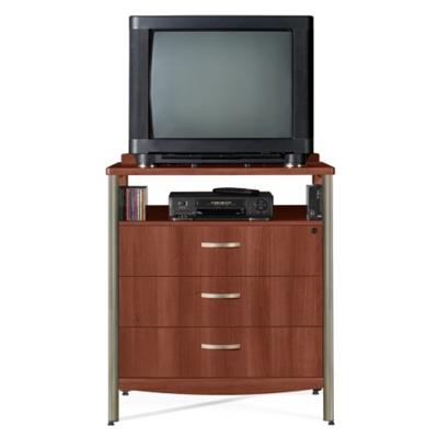 Sonoma Three Drawer Dresser with Media Shelf