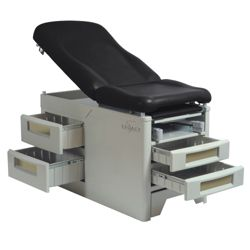 Exam Table with Front Step