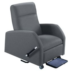 Mobile Bariatric Patient Recliner with Trendelenburg in Vinyl