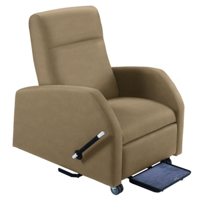 Hannah Bariatric Patient Recliner with Trendelenburg in Fabric