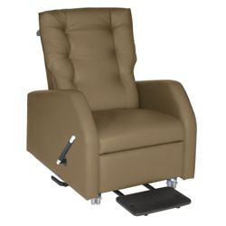 Hannah Bariatric Pillow Back Patient Recliner with Trendelenburg in Fabric
