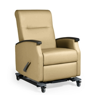 florin wall saver recliner with casters