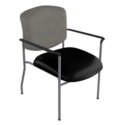 Extra Wide Vinyl Stack Chair