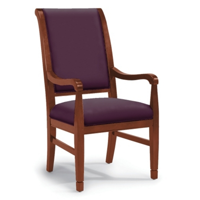 Flexsteel's High-Back Dining Chair