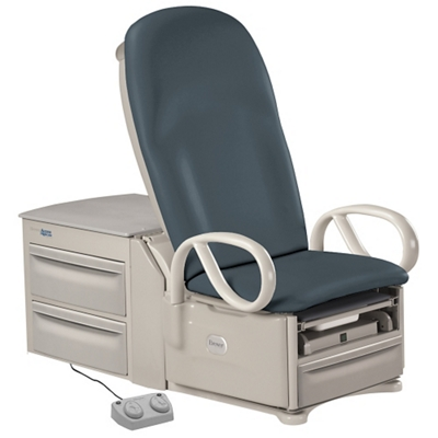 Deluxe Access High-Low Exam Table in Vinyl