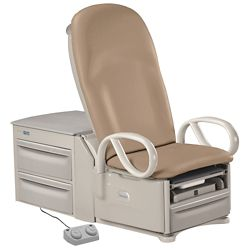 Deluxe Access High-Low Exam Table in Cal-133 Compliant Vinyl