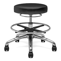 Physician Stool with Hand Ring and Foot Rest
