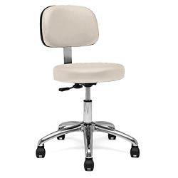 Physician Stool with Back Rest