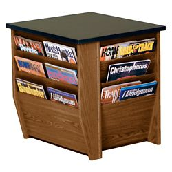 """End Table with Magazine Rack - 20.75""""W"""