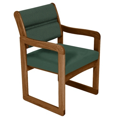 Guest Armchair with Sled Base
