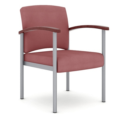 Polyurethane Guest Chair with Metal Frame