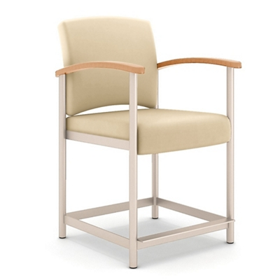 Polyurethane Hip Chair with Metal Frame