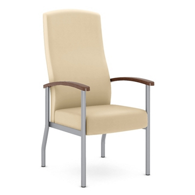 Polyurethane Flex Back Patient Chair with Metal Frame