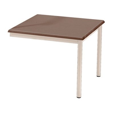 """Laminate Attached End Table - 21"""" x 22"""""""