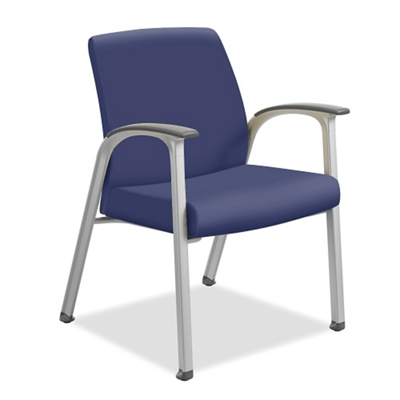 Vinyl Guest Chair with Wall-Saver Legs