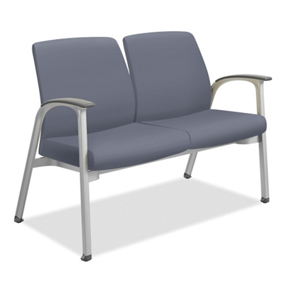 Vinyl Two Seater with Wall-Saver Legs