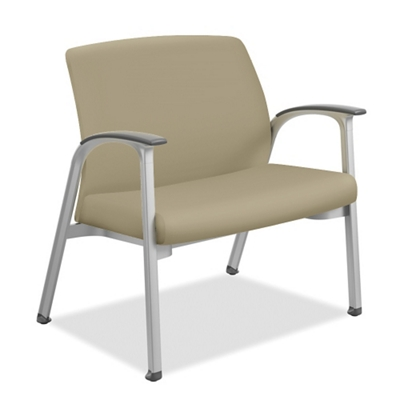 Vinyl Bariatric Chair with Wall-Saver Legs