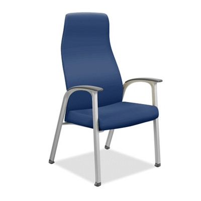 Vinyl Patient Chair with Wall-Saver Legs
